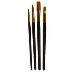 PINCEAUX MAQUILLAGE SET DE 4 ASSORTIS 3102204
