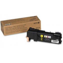TONER JAUNE XEROX PHASER 6500 WORKCENTER 6505 2500 PAGES