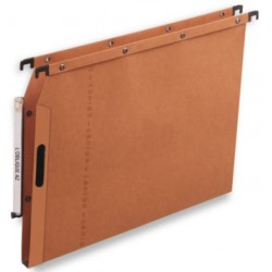 DOSSIER SUSPENDU ARMOIRE VELCRO F15 ORANGE AZL PAQ.25 OBLIQUE AZ