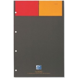 BLOC OXFORD NOTEPAD A4+ 80G 5x5 REF001101 100101876