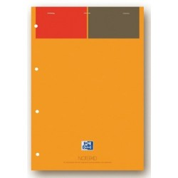 BLOC OXFORD NOTEPAD A4+ 80G TRAVERS REF001102 100102359