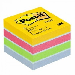 MINI CUBE POST-IT 51x51 MULTICOLOR POSTIT BP648
