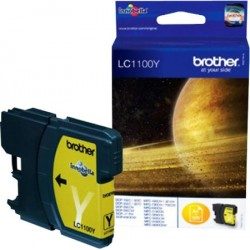 CARTOUCHE JE BROTHER LC1100Y YELLOW 400P