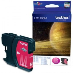 CARTOUCHE JE BROTHER LC1100M MAGENTA 400P