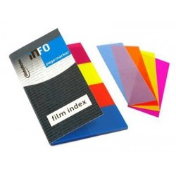 CARNET MARQUE PAGE REPOSIT FILM 4 COUL 20X50