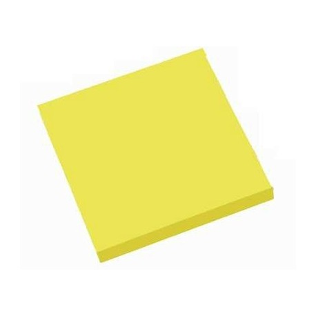 BLOC REPOSITIONNABLE 75X75 JAUNE