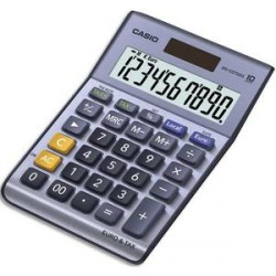 CALCULATRICE DE BUREAU CASIO MS100TER