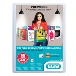 PROTEGE DOCUMENTS 80 VUES POLYVISION INCOLORE