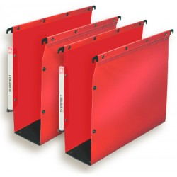 DOSSIERS ARMOIRE POLYPRO ULTIMATE FOND 80 ROUGE x10