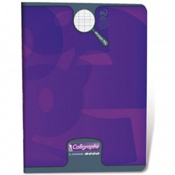 CAHIER PIQURE VERNIS 17x22 90G 32 PAGES SEYES PEFC