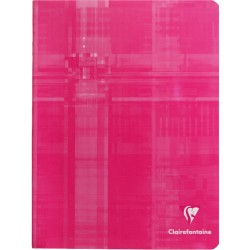 CAHIER PIQURE CLAIREFONTAINE 17x22 90G 96 PAGES SEYES PEFC