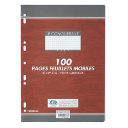 FEUILLET MOBILE PERF 210x297 100P 80G 5x5