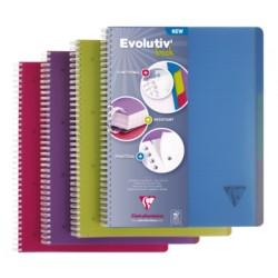 CAHIER EVOLUTIV'BOOK A5 Q5/5 180P COUV PP SPIRALE