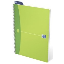CAHIER SPIRAL MY COLOURS A4 180P 5x5 REF351204