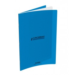 CAHIER POLYPRO BLEU 24x32 90G 48 PAGES SEYES