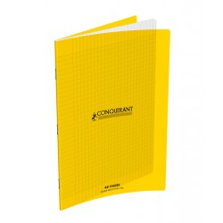 CAHIER POLYPRO JAUNE 24x32 90G 48 PAGES SEYES