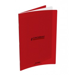 CAHIER POLYPRO ROUGE 24x32 90G 48 PAGES SEYES