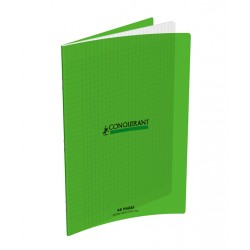CAHIER POLYPRO VERT 24x32 90G 48 PAGES SEYES