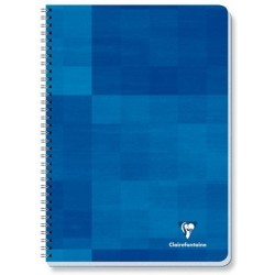 CAHIER CLAIREFONTAINE 24X32 180 PAGES 5X5 90G