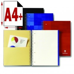 CAHIER BINDOBLOCK SPIRALE 225X297 160 PAGES PERF 5X5