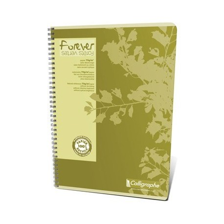 CAHIER FOREVER REL. INTEGRALE A4 100 PAGES 5x5 70G