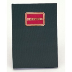 REPERTOIRE TOILE 210X297 300 PAGES 5X5