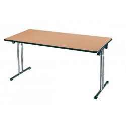 Tables pliantes L. 140 x P. 70 cm