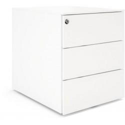 Caisson mobile Blanc 3 tiroirs