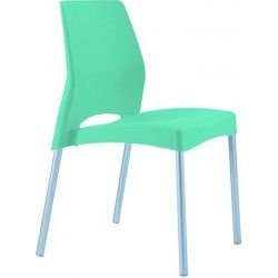 LOT DE 2 CHAISES PIMS CHAISE IN AND OUTDOOR VERT ANIS