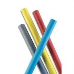 LOT DE 10 Papier Kraft coloris Noir recto-verso 65g - Dimensions : 0,68 x 3 mètres