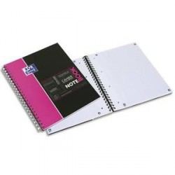 Cahier étudiant A4+ OXFORD NOTEBOOK Spirale 160P Séyès appli SOS NOTES