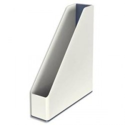 Porte-revues LEITZ Dual blanc/gris métallisé