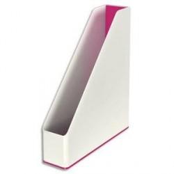 Porte-revues LEITZ Dual blanc/rose métallisé