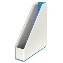 Porte-revues LEITZ Dual blanc/bleu métallisé
