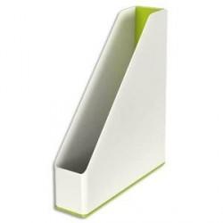 Porte-revues LEITZ Dual blanc/vert métallisé