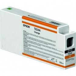 CART EPSON C13T824A00 ORANGE 350ML P/SC6000-7000-8000-9000