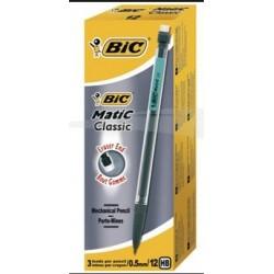 PORTE MINES BIC MATIC CLASSIC 0,5 BTE 12 BIC