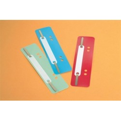 ATTACHES FLEXI PERFOREES ASSORTIES BTE 25