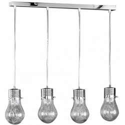 LAMPES AMBIANCE SUSPENDUE 4 LAMPES FLUO