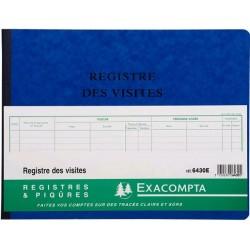 REGISTRE DES VISITES EXA 6430
