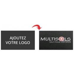 TAPIS PERSONNALISABLE COULEUR + LOGO - 85x120cm PASSAGE INTENSE