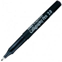 MARQUEUR CALLIGRAPHIE 2,0MM pour écrire, dessiner, parapher, réaliser des lettr