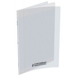 CAHIER POLYPRO 24x32 140P 90G SEYES INCOLORE