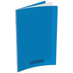 CAHIER POLYPRO 24X32 140PAGES 90G SEYES BLEU