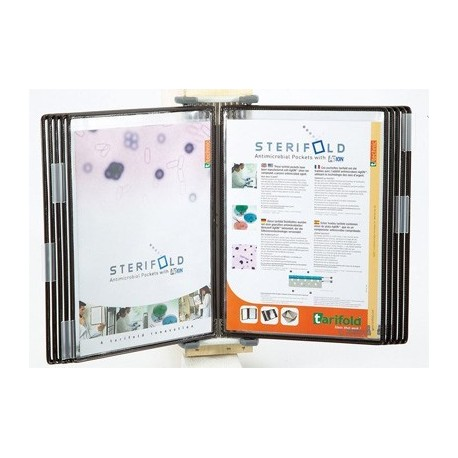 SUPPORT MURAL STERIFOLD INOX 10 POCHES