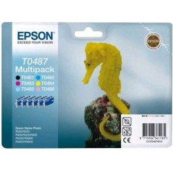 R300 PACK 6 CART. EPSON NOIRE + 5 COUL STYLUS PHOTO