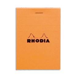 BLOC DE DIRECTION RHODIA 160P format 8.5x12cm 5x5 PETITS CARREAUX