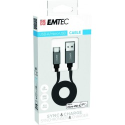 Cable USB-A to MICRO-USB T700 ECCHAT700MB