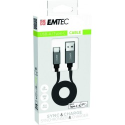 Cable USB-A to TYPE-C T700 ECCHAT700TC