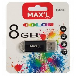 CLÉ USB 2.0 COLORS Max'L 8 Go MAXL85402